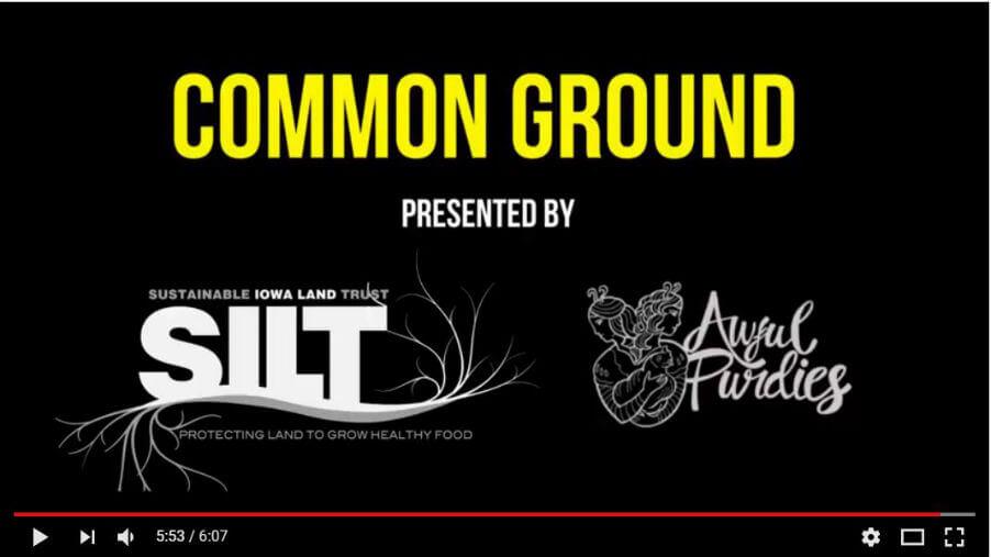 SILT common ground video