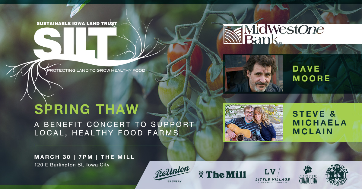 SILT Spring Thaw Concert Flyer