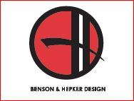 Benson & Hepker Design logo