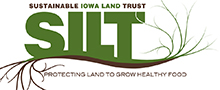 Sustainable Iowa Land Trust | SILT Logo